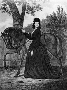 Steel Engraving of Union Spy Sarah Emma Edmonds by Geo E Perine, circa 1865