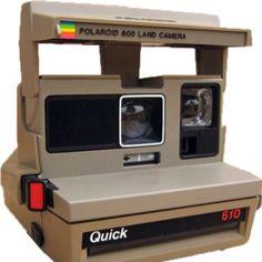 Polaroid. regalo per la prima Comunione.