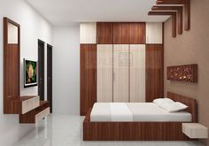 Shop for Mattice Bedroom set with Laminate Finish from the leading online furniture manufacturers Scale Inch. Avail COD and EMI Wardrobe Laminate Design, Wardrobe Door Designs, Wardrobe Design Bedroom, Bedroom Bed Design, Bedroom Furniture Design, Modern Bedroom Design, Furniture Layout, Bedroom Sets, Trendy Bedroom