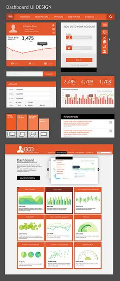 ui design, dashboard