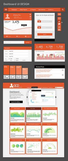 ui design, dashboard