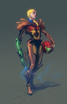 Samus redesign by Medders