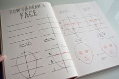 """Marion Deuchars' """"Let's Make Some Great Art!"""" -How to Draw a Face  http://thepioneerwoman.com/homeschooling/marion-deuchars-lets-make-some-great-art/"""