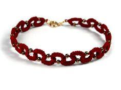 Beaded Bracelets, Wine, Jewelry, Fashion, Moda, Jewlery, Jewerly, Fashion Styles, Pearl Bracelets
