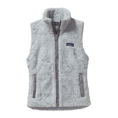 Patagonia Women\'s Los Gatos Fleece Vest - Pebble Grey PBGY @appletree93 | out of the fur vest and this vest, I want this one more