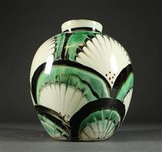 Vare: 4443499 Herman A. Kähler vase, lertøj