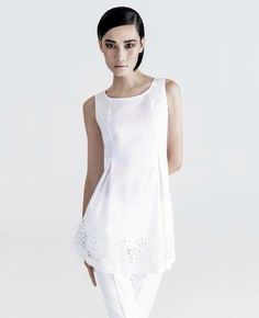 Love the cutouts! Do you? Lafayette 148 NY Spring 2014 Trunk Show at CK & Co.