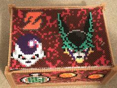 Caja de dragón ball Z hama beads