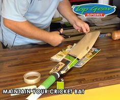 A cricket player is only as good as his gear, therefore the maintenance thereof is essential. Click on the link to find out how to maintain your cricket bat: http://apost.link/302. #TopGearSports #cricketbat #maintenance