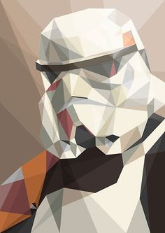Awesome cubism Storm Trooper
