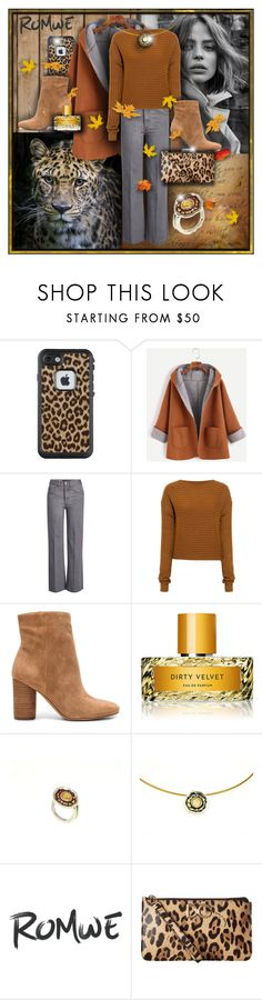 """nature colors"" by giampourasjewel ❤ liked on Polyvore featuring LifeProof, Marc Jacobs, TIBI, Sam Edelman, Vilhelm Parfumerie and Dolce&Gabbana"