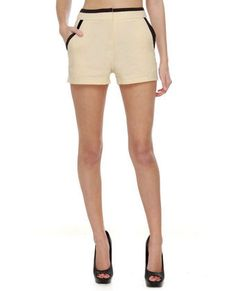 These shorts for some reason remind me of Audrey Hepburn. I love them and her. #LoveLulus