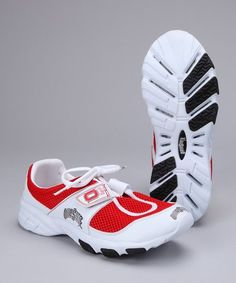 Having spirit doesn't stop with a tee or baseball hat. Pick up a pair of sneakers that boasts school colors, and show just how far true fans are willing to go to support their team. Red Converse Shoes, Ohio State Buckeyes, School Colors, Cleats, Baseball Hats, Fans, Spirit, Sneakers, Football Boots