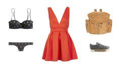 Tropical Lobster www.EzzentricTopz.blogspot.com #ezzentrictopztheblog #ezzentrictopz #polyvore #reddress #fashion