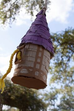 Tangled Tower Pinata