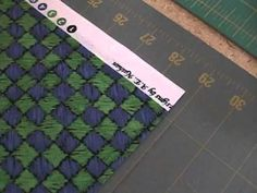 Rotary Cutting: How to Square up Your Fabric and Cut Strips – Video