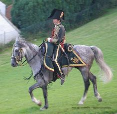 Officer, Chasseur a cheval, Waterloo 2008