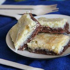 German Chocolate Cream Cheese Snack Cake
