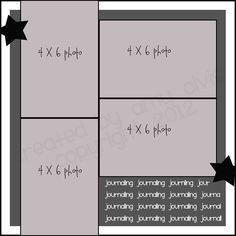 4 X 6 Photo Sketch Blog