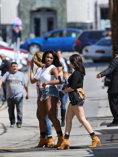 Fifth Harmony on the Kimmel Set (March 25, 2016)