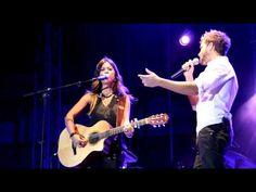 ▶ Vanesa Martin y Pablo Alboran - Borracha de Amor - Concierto Aranjuez - YouTube