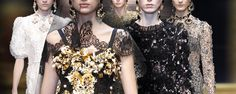 Dolce gabbana FW 2013 woman baroque collection innovative embroidery techniques - Swide