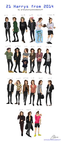 21 Harrys for your birthday:) love you
