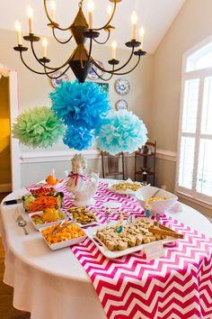 birthday party chevron