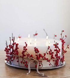 Creative & Inspirational Modern Christmas Candle Decorations Ideas - Home, Noel Christmas, Modern Christmas, Scandinavian Christmas, Rustic Christmas, All Things Christmas, Winter Christmas, Christmas Crafts, Xmas, Woodland Christmas