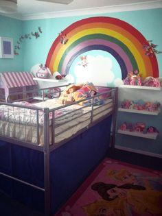 Rainbow room for Miss M!