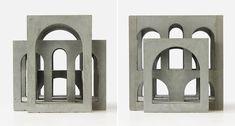 Déambulatoire V.2 on Behance Concrete Sculpture, Concept Architecture, Diy Table, The Originals, Behance, Creative, Bunker, Painting, Portal