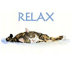 Lazy Sunday Afternoon, I Got No Mind To Worry, I Close My Eyes & Drift Away... by Jan on Etsy