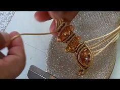Básico #4 - YouTube Macrame Earrings, Drop Earrings, Macrame Mirror, Macrame Tutorial, Paracord, Knots, Weaving, Beads, Knitting