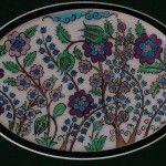 ayse ozkan cini sanati (2) Stoneware, Plates, Tableware, Porcelain Ceramics, Pintura, Licence Plates, Dishes, Dinnerware, Plate