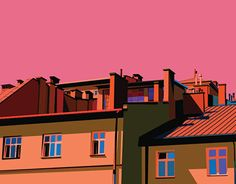 """Check out new work on my @Behance portfolio: """"Roofs"""" http://be.net/gallery/44264845/Roofs"""