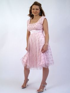This would make a cute Easter dress for a teenage girl. Or just a nice spring/summer dress.