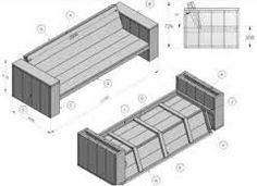 Zelf houten bank maken nodig? Klik hier voor gratis bouwtekeningen!