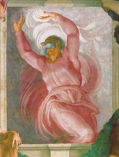 Sixtinische Kapelle, Michelangelo, Erschaffung des Lichts (Separation of dark and light) by HEN-Magonza, via Flickr