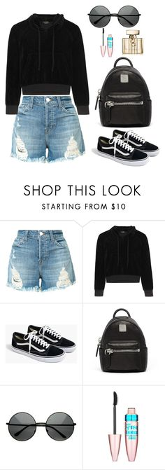 """Untitled #520"" by alibasicamina ❤ liked on Polyvore featuring J Brand, Vetements, J.Crew, MCM, Maybelline and Gucci"