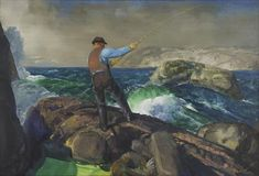 The Fisherman - George Bellows (1882–1925) | Amon Carter Museum of American Art