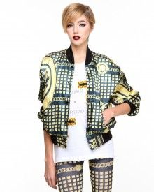 Golden Gods Bomber Jacket
