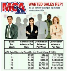 Looking for away to make money from home? You have come to the right place! With Motor Club of America the possibilities are endless! You make aneasy $80-$90 for every single sale! With just 3 sales a day you will make a six figure income! Visit http://mymcany.com/IncomeOpportunity.html