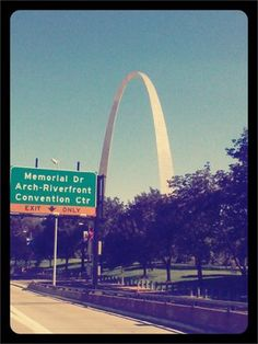 St. Louis- Grandma Betty's hometown; where the Huntingtons lived for a long time and some still do.