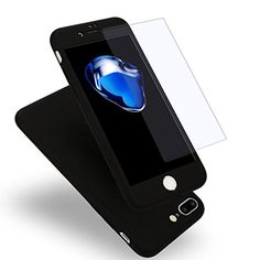 For Apple iPhone 7 6 6s Plus Luxury 360 Degree Protection Mobile Phone Case Capa Cover Coque +Nano Glass iPhone6 iPhone 7 Case