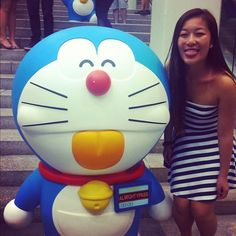 Doraemon is sooo cute:) #cute#doraemon#harbour#city#life#hkig - @amandasiu | Webstagram
