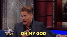 omg oh my god election 2016 rob lowe presidential debate election debate colbert live aftershow #humor #hilarious #funny #lol #rofl #lmao #memes #cute