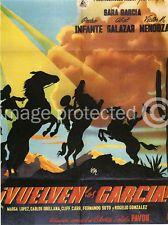 Vuelven los Garcia Vintage Mexican Cinema 11x17 Poster