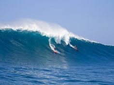 Return to Jaws - October 9, 2012, Jaws, Peahi, Shane Dorian getting barrelled - big wave paddle in!!!  EPIC!
