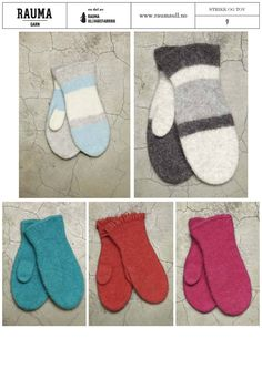 Felted Slippers, Wrist Warmers, Knit Mittens, Christmas Knitting, Christmas Stockings, Tatting, Free Pattern, Diy And Crafts, Kids Rugs