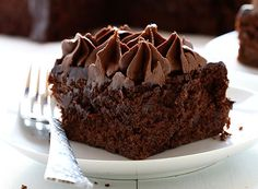 Zucchini Double Chocolate Cake ~ http://iambaker.net